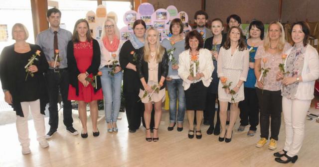 Das Team der KiTA Sonnenblume im Juni 2015