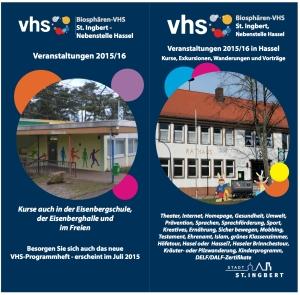 VHS HasselBroschüre-UmschlagN
