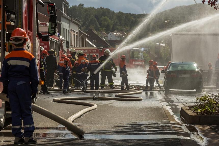 Feuerwehrübung 09/2015 II