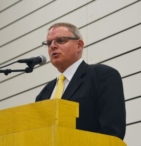 Ortsvorsteher Markus Hauck
