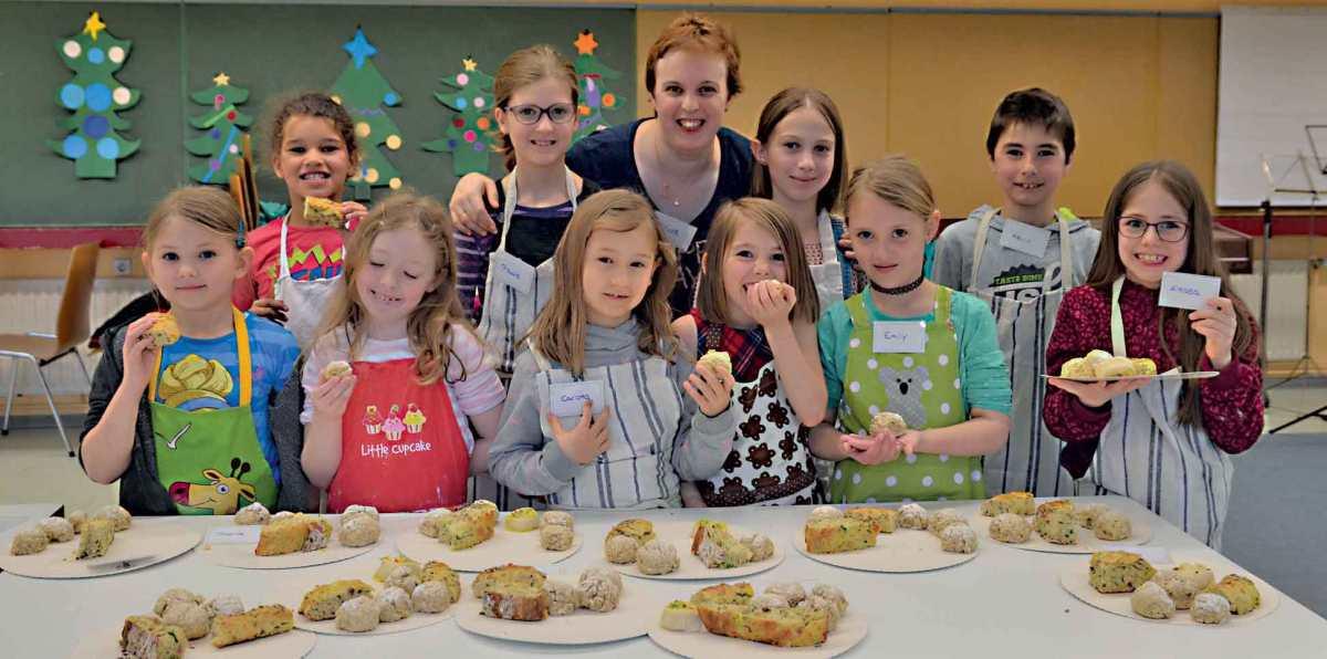 Brot und Brötchen backen für Kinder ab 6 Jahren am Samstag, den  3.3.