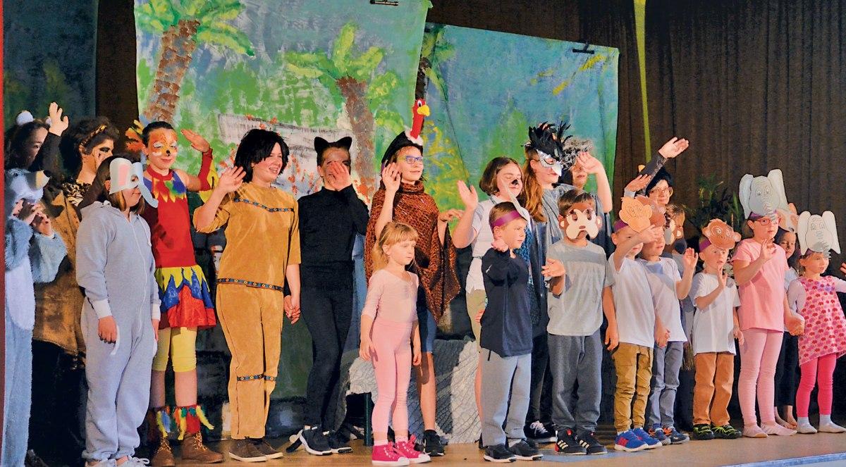 """""""Musical Dschungelbuch"""" ein voller Erfolg"""