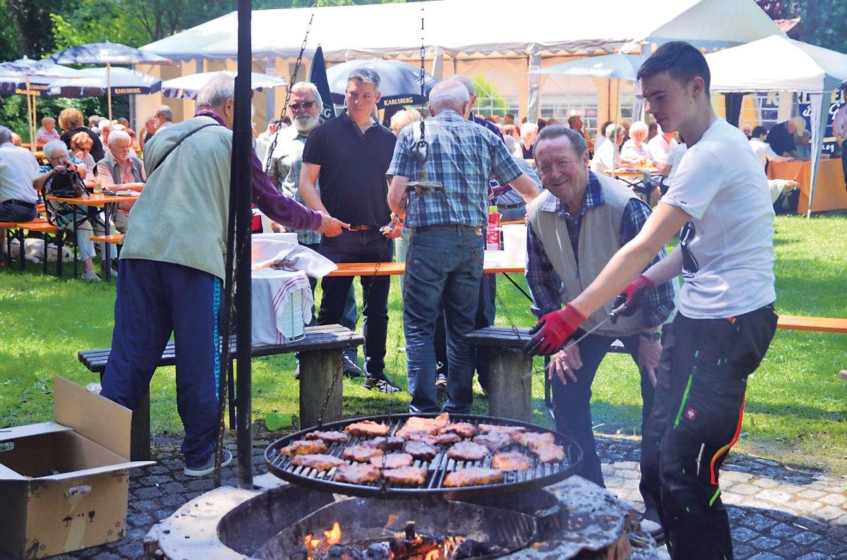 Sommerfest der CDU Hassel 2018 bei strahlendem Sonnenschein