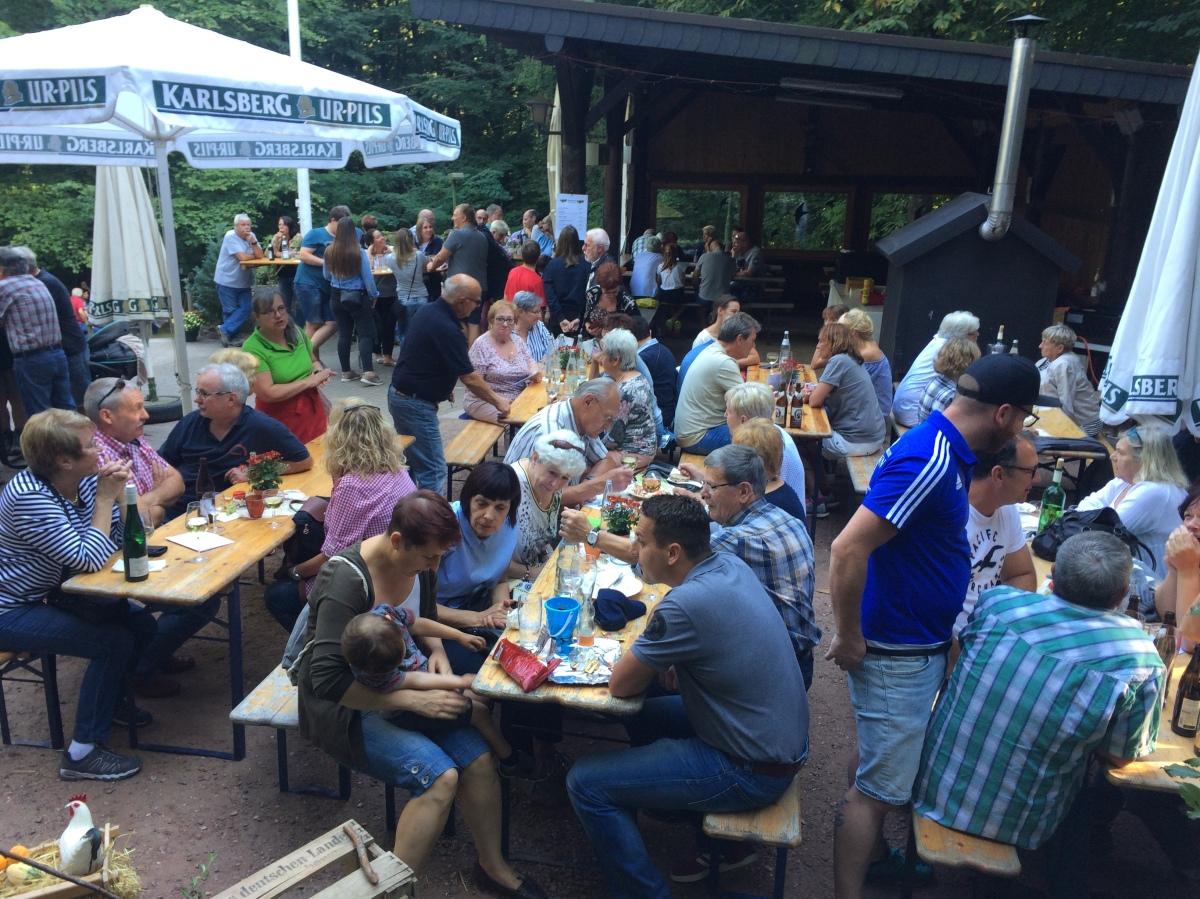 Weinfest an der Schopphübelhütte war ein voller Erfolg